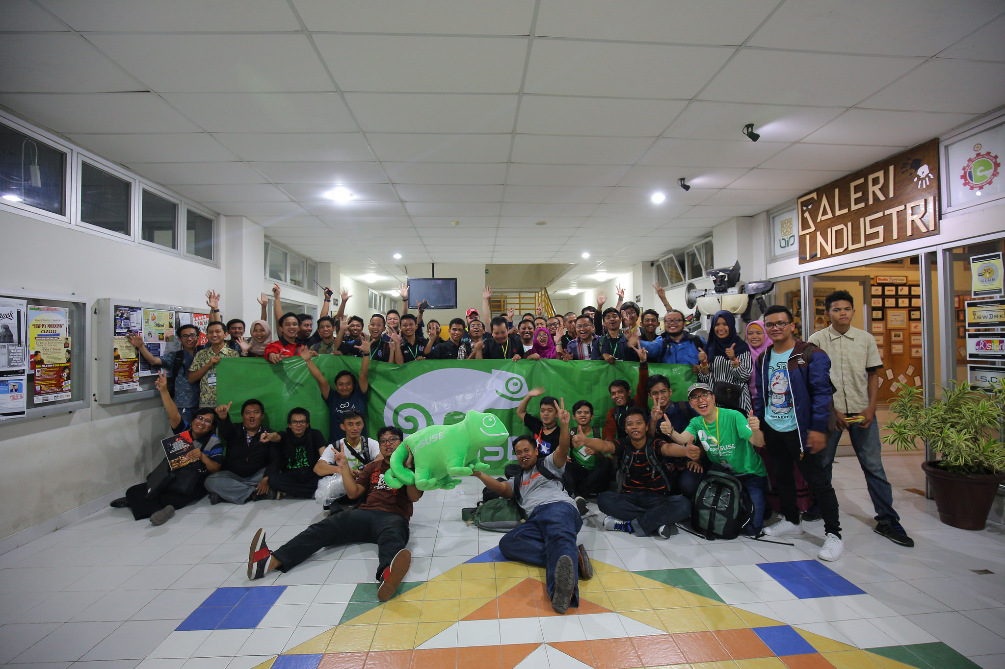Day 0, After Pre-Event Workshop - Photo by openSUSE Indonesia